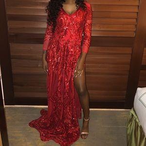 Dresses & Skirts - Prom Dress (Red)